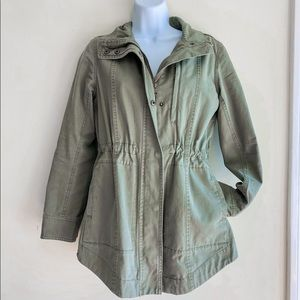 Marine Layer Utility Green Jacket